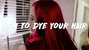 How To Dye Your Hair Ft Inebrya Icecream