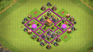 Clash Of Clans Th6 Base Design Th6 Home Base Layout With Base Copy Link