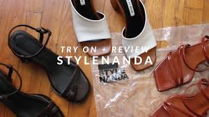 Stylenanda Korean Fashion Shoe Try On Haul Sizing Review Julia Suh