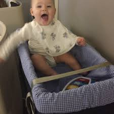 British Airways Flying with Baby bassinet carrycot