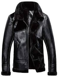 ws668 mens winter faux fur suede leather stitching coat warm retro motorcycle jacket outdoor parka cool