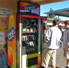 Fruit Vending Machines Simple Fresh Vending Machines Strike A Balance Between Junk Food And Fruit