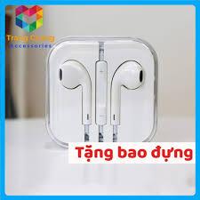 FREESHIP] Tai nghe Iphone 6/6s zin bóc máy - Bảo hành 12 tháng - Hàng xuất  dư - Tai nghe có dây nhét tai Nhãn hàng No Brand