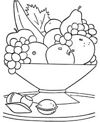 Small Picture Printable fruits basket coloring Page for kids Didi coloring Page