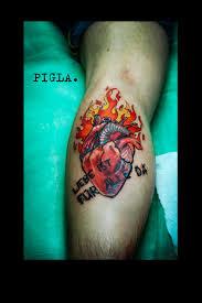 художественная татуировка от мастеров Piglatattoo Studio в днепре