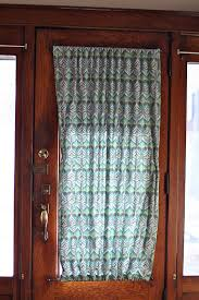 curtain for front doorDIY Door Panel  TheNerdNest