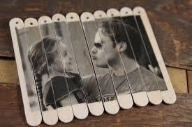 diy valentine photo puzzle popsicle sticks