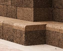 cork furniture. AMORIM Black Cork Wall By José Neves Becomes Urban Furniture For A Cultural Square In Lisbon O