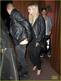 ashlee simpson evan ross matching leather jackets