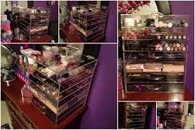be excited for the affordable alternative to the kardashians clear cube make up storage box the glambox flutter and sparkle