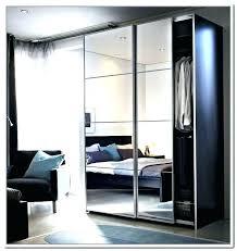 sliding door noteworthy mirror doors wardrobe glass curtains ikea instructions gla