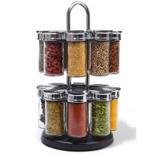 17 Piece Spice Jar Set homemaker from kmart $15 - use to hold beads &  sequins