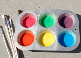 diy sidewalk chalk paint is one of our favorite and inexpensive outdoor summer activities we ve previously shared our favorite homemade chalk paint