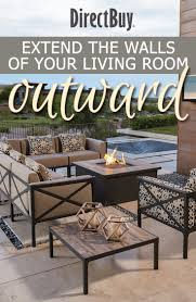 Outdoor Living Room Furniture For Your Patio Directbuy Blog Extend The Walls Of Your Living Room Outward