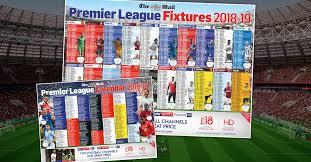 Premier League Wall Chart
