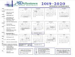 How To Make A School Calendar Academic Rating Periods District Calendar Allentown