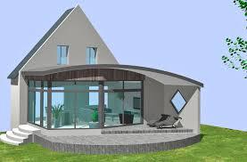 Extension Toit Arrondi En 3d Agrandissement De Maison