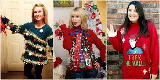 20 Ugly Christmas Sweaters - Ugly Christmas Sweater DIYs and Tutorials