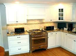 how to cut kitchen cabinet crown molding corner moulding styles rope cabinets ideas trim