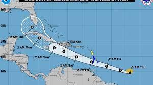 Tropical Storm Elsa, 5th named storm ...