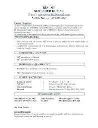 Experience Resume Model Resume Format Experienced Model Resume Format For Experience Sample