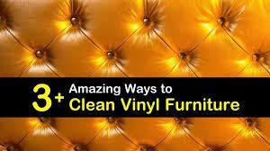 3 amazing ways to clean vinyl furniture