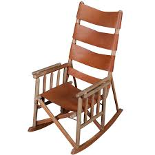 outdoor rocking chair folding camping rocking chair