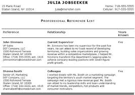 Personal References For Job References