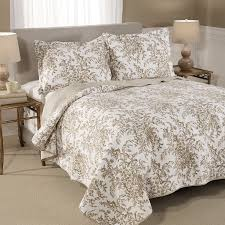 bedford cotton reversible quilt set by laura ashley home