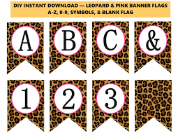 Leopard Print Party Decorations Leopard Baby Shower Etsy