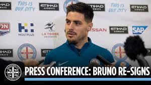 bruno re signs press conference bruno re signs press conference