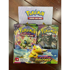 Pack Lẻ Thẻ Bài Pokemon TCG Sword & Shield Vivid Voltage Chính Hãng Mới  100% giá cạnh tranh