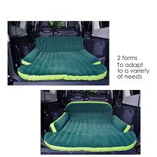 Backseat Inflatable Bed Amazoncom Heavy Duty Inflatable Car Mattress Bed For Suv