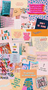 Colorful inspirational aesthetic ...