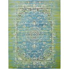 mistana neuilly blue green area rug reviews wayfair inside and rugs plan 0