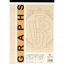 Bassile Freres Graph Paper, White, 29.70 Cm ( 11.69 In )X 21.00 Cm ...