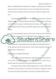spiritual values in anishinaabe literature essay spiritual values in anishinaabe literature essay example