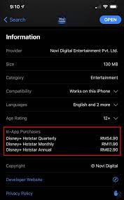 Cheaper Disney+ Hotstar Malaysia options spotted, RM62.90 for an annual  subscription | Showbiz