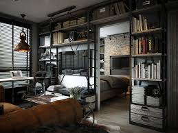 exposed brick bedroom design ideas.