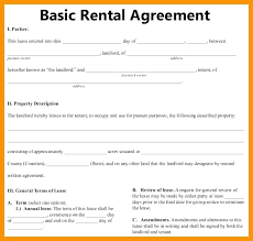 Blank Tenancy Agreement Template