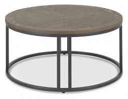 chevron weathered ash coffee table