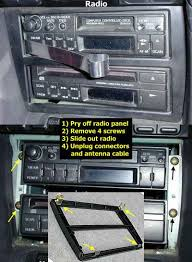 stealth 316 sony cdx m800 head unit installation removing factory radio