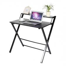computer table modern wooden computer desk folding table pertaining to new home folding computer desk plan
