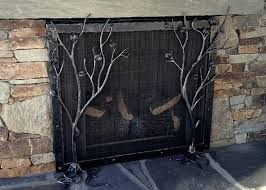 beautiful large fireplace screens for excellent ideas large fireplace screens 49 large custom fireplace screens