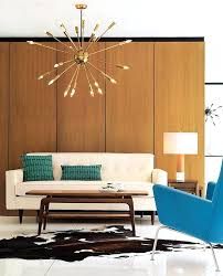 chandelier in living room mid century modern brass chandeliers for a hospitality project mid century modern
