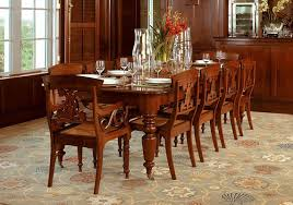 caribbean furniture. CARIBBEAN DINING TABLE AND CHAIRS, MAHOGANY (T191) Caribbean Furniture