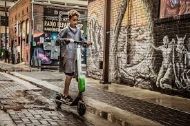 legal age to drive an electric scooter