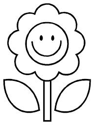 Kids Coloring Pages Flowers 488websitedesigncom