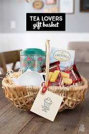 tea gift basket for the tea lover