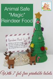 Recipe Labels Animal Safe Magic Reindeer Food And Free Printable Labels